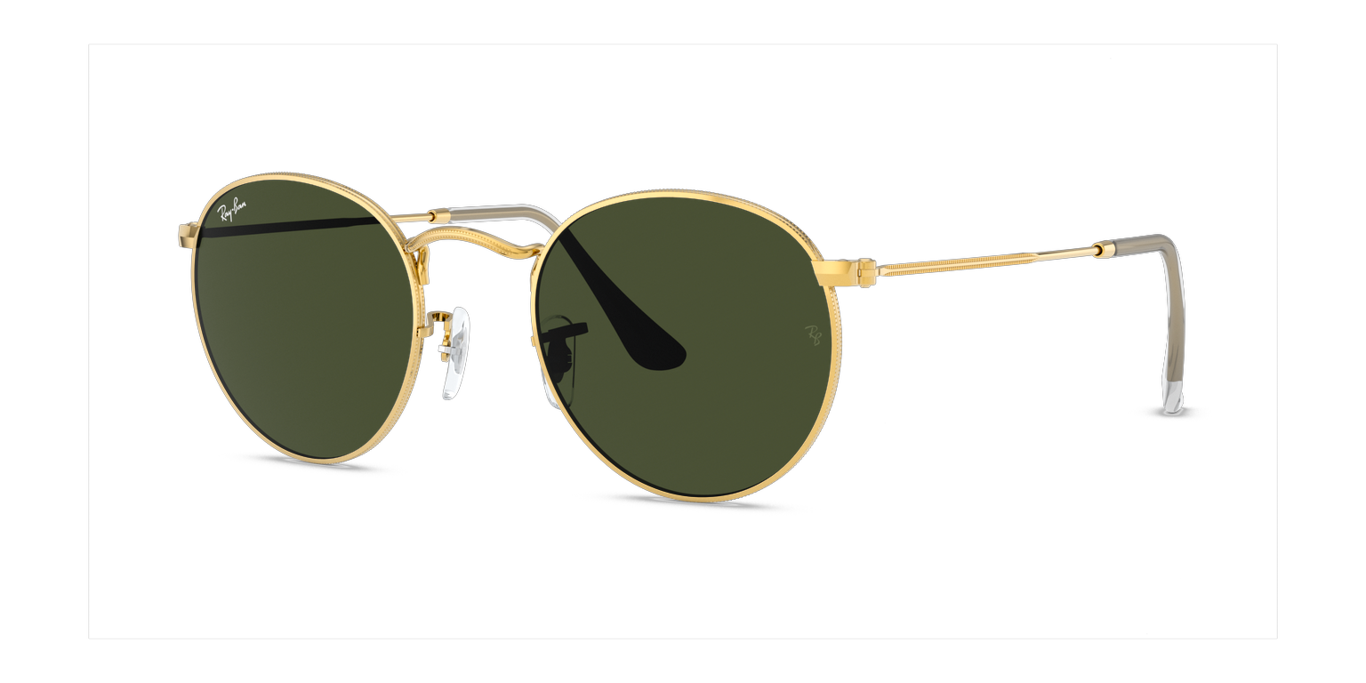 Ray-Ban RB3447 - Ray-Ban Round Ouro remix