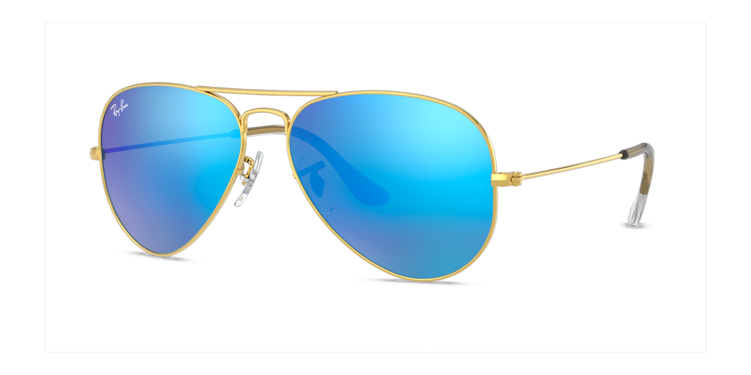 Ray-Ban RB3025 - Ray-Ban Aviator Gold Plated remix